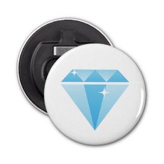 Diamond Bottle Opener Button Bottle Opener