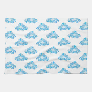 Diamond Clouds in the Sky Pattern Towel