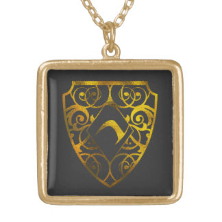 Diamond Club Medium Silver Plated Square Locket