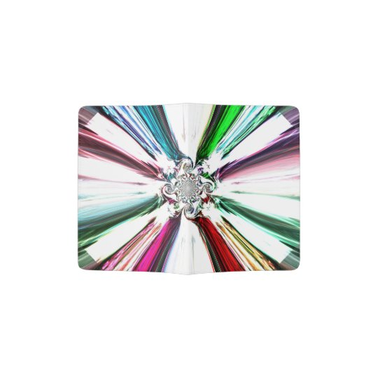 Diamond Colour Spray Passport Holder