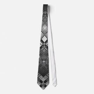 Diamond Cross Hatch Tie