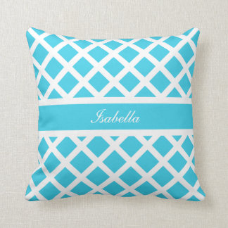 Diamond Custom Name Pillow