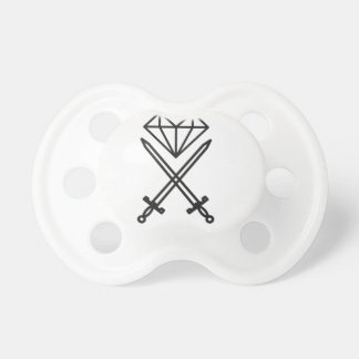 Diamond cut pacifier