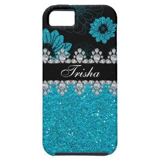 Diamond Dahlias iPhone 5 Case