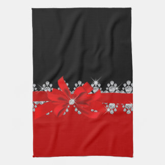 Diamond Delilah - Red Hot! Kitchen Towel