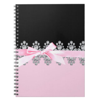 Diamond Delilah Spiral Notebook
