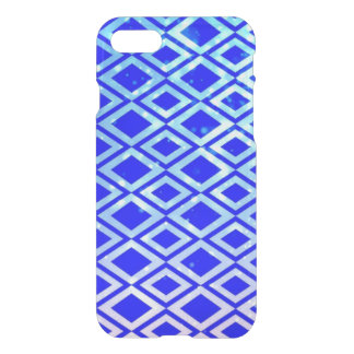 Diamond Design (Blue) iPhone 7 Clearly™ Case