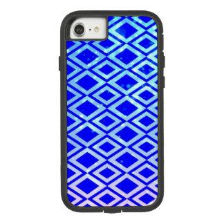 Diamond Design (Blue) iPhone 7 Phone Case