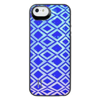 Diamond Design (Blue) iPhone SE/5/5s Battery Case