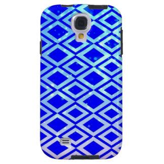 Diamond Design (Blue) Samsung Galaxy S4 Phone Case