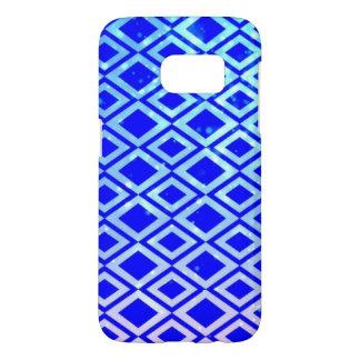 Diamond Design (Blue) Samsung Galaxy S7 Phone Case