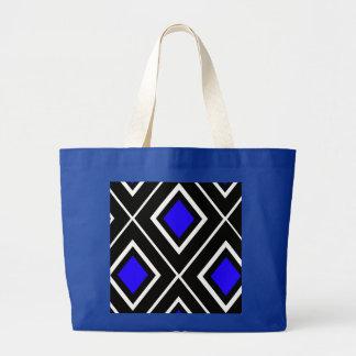 Diamond Design Tote Bag