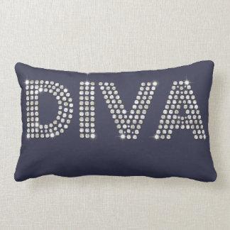 Diamond Diva Lumbar Pillow