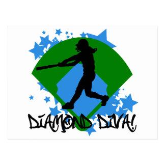Diamond Diva! Postcard