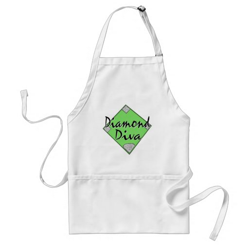 Diamond Diva Softball Aprons