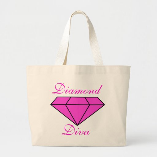Diamond Diva Tote Bag