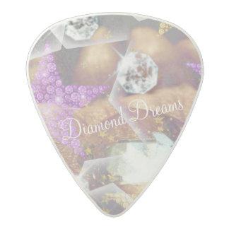 Diamond Dreams Acetal Guitar Pick