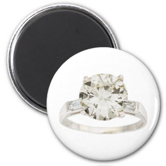 Diamond Engagement Ring Hint Hint 2 Inch Round Magnet