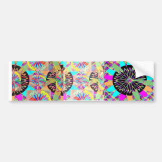 Diamond Flower Design 5 Bumper Sticker
