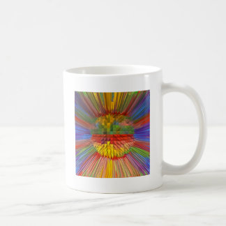 Diamond Flower Digital Graphic ART Gifts FUN love Coffee Mug