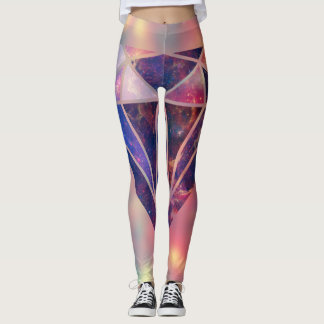Diamond Galaxy Leggins Leggings