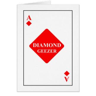 Diamond Geezer Card