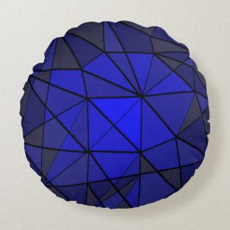 Diamond gem Stone Jewel Design Round Pillow
