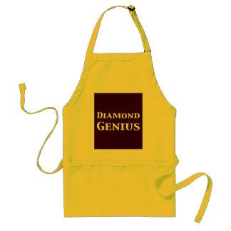 Diamond Genius Gifts Standard Apron