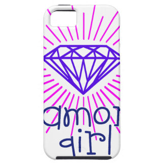 diamond girl, gem shining case for the iPhone 5