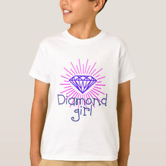diamond girl, gem shining T-Shirt