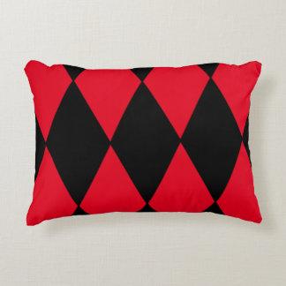 Diamond Harlequin Decorative Pillow