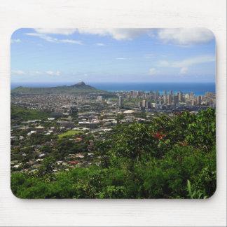 Diamond Head and Waikiki Mouse Pad