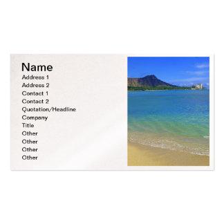 Diamond Head Business Card Templates