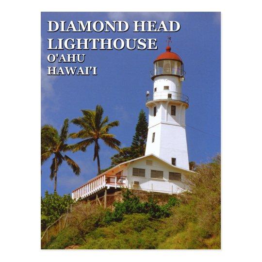 Diamond Head Lighthouse, O'ahu, Hawai'i Postcard