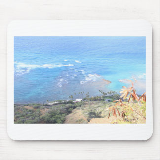Diamond Head look out Mousepads