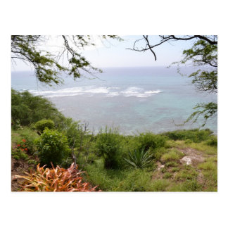 Diamond Head Look Out Postcard