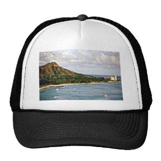Diamond Head - Waikiki Beach, Oahu Trucker Hats