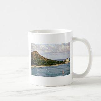 Diamond Head - Waikiki Beach, Oahu Coffee Mugs