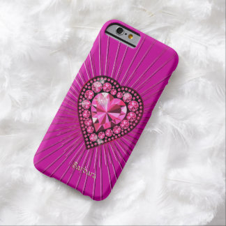Diamond Heart Barely There iPhone 6 Case