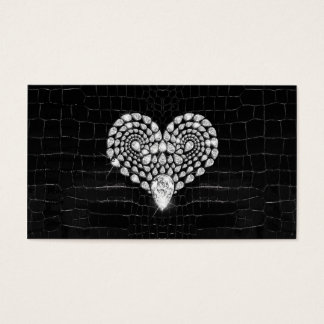 Diamond Heart Business Card