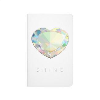 Diamond Heart Inspiration Journal