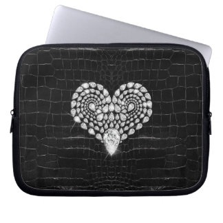 Diamond Heart Laptop Sleeve