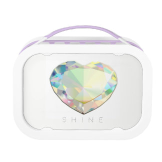 Diamond Heart Lunch Box