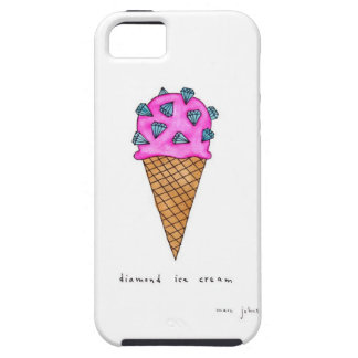 Diamond Ice Cream iPhone 5 Case