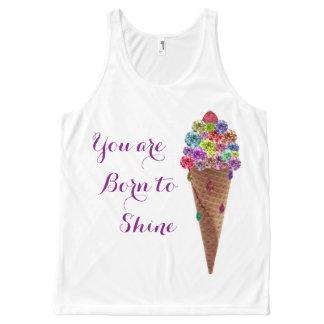 Diamond Ice-cream Top