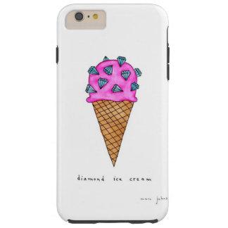 Diamond Ice Cream Tough iPhone 6 Plus Case