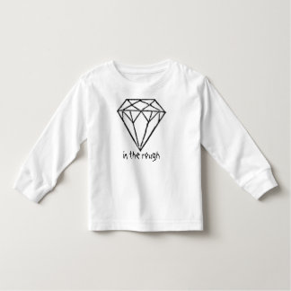 diamond in the rough toddler t-shirt