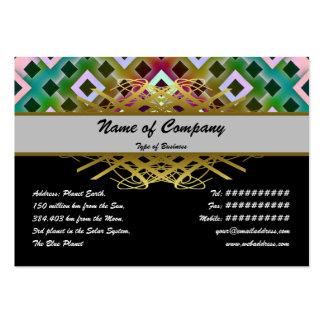 Diamond Inverted Business Card