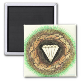 Diamond is Formed Under Great Pressure Magnet