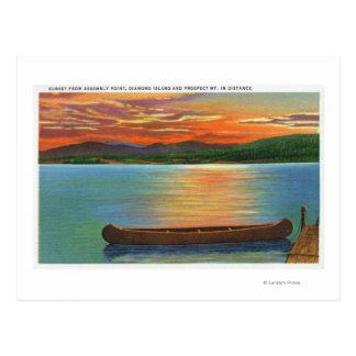 Diamond Island, Prospect Mt Postcard